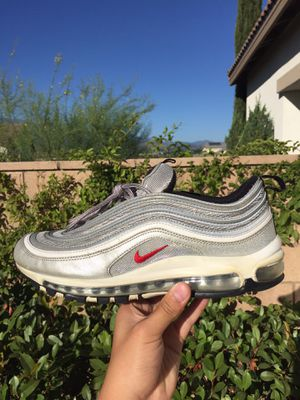 Nike Air Max 97 Silver Bullet for Sale in Beaumont, CA