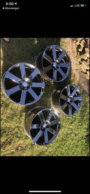 SRT8 20 inch chrysler rims for Sale in OLD RVR-WNFRE, TX