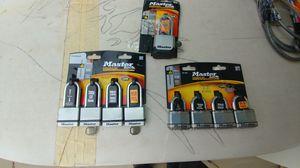 Master locks. Set of 4. $$ 20 each firm for Sale in Avondale, AZ