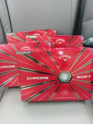 Premium Golf Balls - 4 Boxes for Sale in Virginia Beach, VA