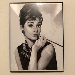 Audrey Hepburn wall decor for Sale in Breckenridge,  CO