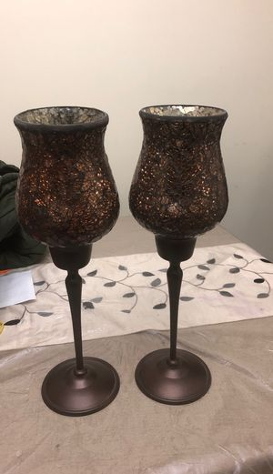 "two 15"" candle holder for Sale in Gaithersburg, MD"
