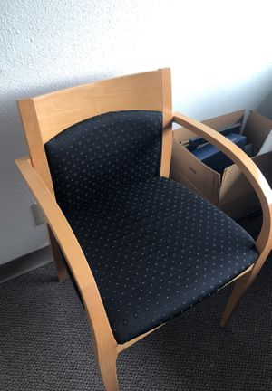 Office guest chairs set of 4. $20 each for Sale in Seattle, WA