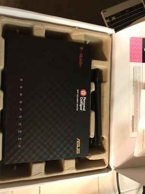 T-Mobile personal cell spot ASUS RT-AC1900P Wireless router-1900 Mbps- 2.4 GHz/5GHz for Sale in Fresno, CA