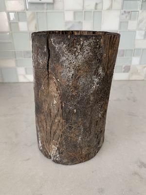 Cute Wood Vase Plant Holder Vintage Brown for Sale in Vista, CA