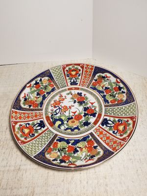 Rose Canton porcelain plate. for Sale in San Antonio, TX