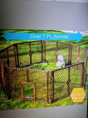 """North States Petyard Cage Freestanding 7 sq. ft to 34 sq. ft (26"""" tall) for Sale in Stanton, CA"""