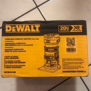Dewalt 20v XR ROUTER . Bare Tool . Solo Herramienta $139 Price Firm for Sale in Anaheim, CA
