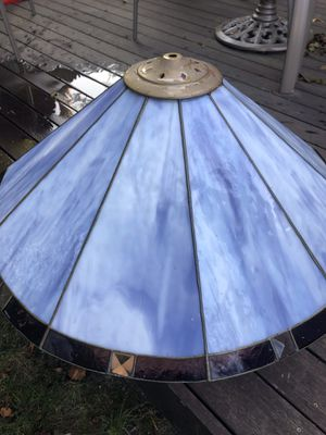 Stained glass lamp shade for Sale in Peabody, MA