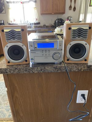 Panasonic CD and Stereo System SA-PM03 Works Great for Sale in Sun City, AZ