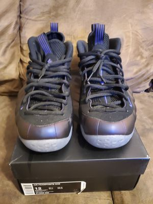 Nike foamposite eggplant size 12 for Sale in Tampa, FL