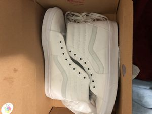 Vans use 1 time size 9 1/2 for Sale in Bronx, NY