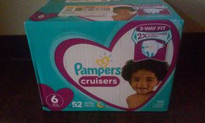 Pampers cruisers size #6,$20 for Sale in Escondido, CA