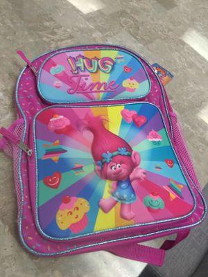 Trolls backpack for Sale in San Antonio, TX