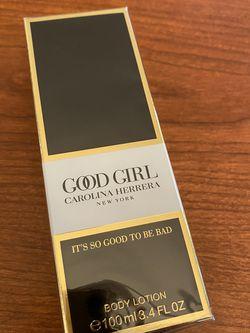 New in Box: Good Girl Carolina Herrera New York Body Lotion 100ml 3.4 OZ Sealed for Sale in Huntington Beach,  CA