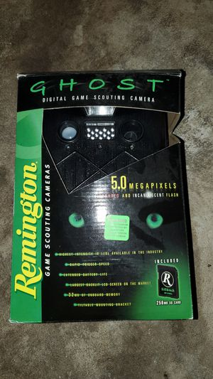 Remington ghost game accounting camers for Sale in Mifflinburg, PA