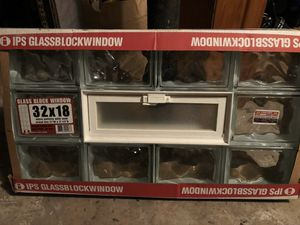 32 by 18 Brand New Glass Block Window for Sale in Downers Grove, IL
