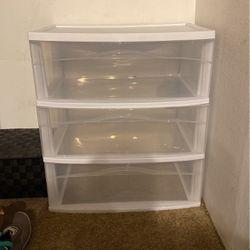 3 Tiered Plastic Shelf for Sale in Seattle,  WA