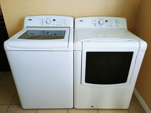 Kenmore oasis washer and gas dryer for Sale in San Bernardino, CA
