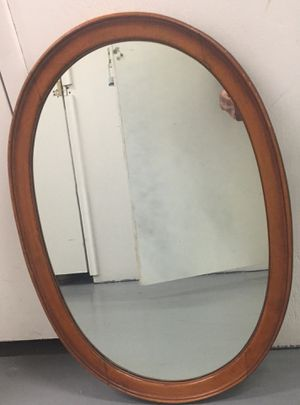 Wooden mirror for Sale in Fort Lauderdale, FL