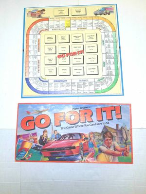 Parker brothers go for it board game for Sale in East Wenatchee, WA