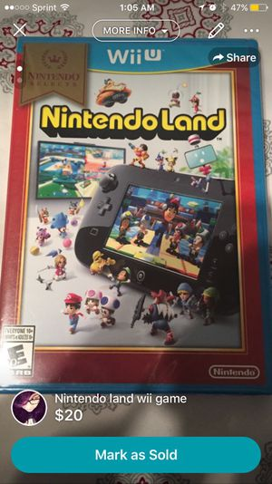 Nintendo land Wii U for Sale in Brownsville, TX