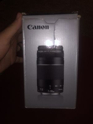 Camera lens canon for Sale in Laveen Village, AZ