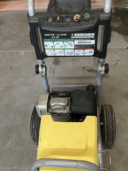 Great working 3000 psi gas Honda pressure washer. No wand or hose. for Sale in Las Vegas,  NV