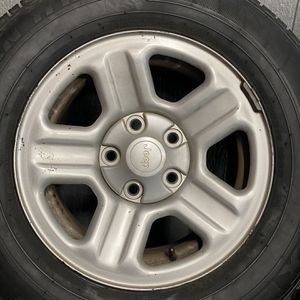 Jeep Wrangler Wheels And Tires for Sale in Hayward, CA