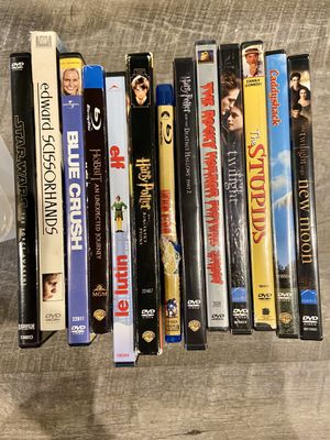 Bunch of DVDs/Blue Rays for Sale in North Ridgeville, OH