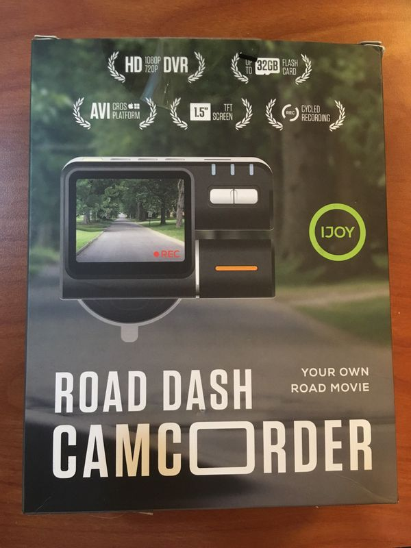 I joy Road Dash Camcorder