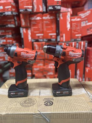 Brand new milwaukee m12 fuel hammer drill and impact driver with 4.0 2553-20 2504-20 for Sale in MONTGOMRY VLG, MD