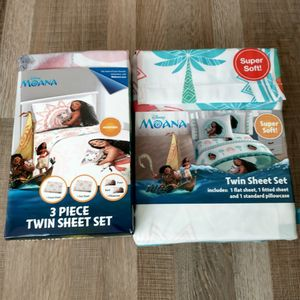 Disney Moana Twin Sheets for Sale in Carson, CA