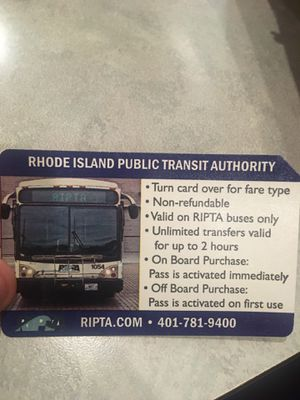 2 hour bus pass for Sale in Providence, RI