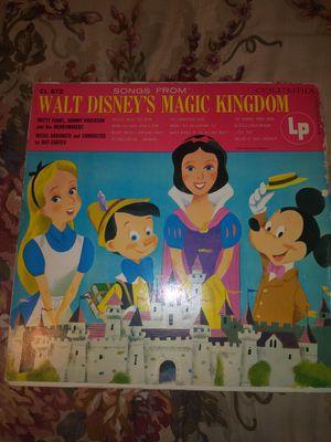 Walt disney ( Magic Kingdom) record for Sale in Austin, TX