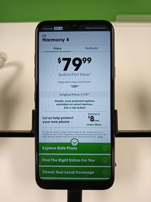 LG Harmony 4 @ Cricket for Sale in Paragould, AR
