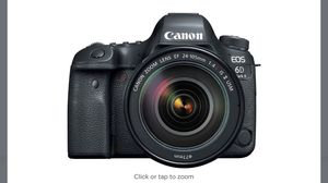 Canon - EOS 6D Mark II DSLR Camera with EF 24-105mm f/4L IS II USM Lens - Black for Sale in Fort Lauderdale, FL