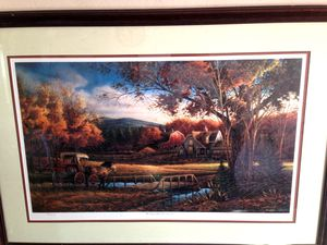 Redlin- Wednesday Afternoon A/P Signed and Numbered- RARE for Sale in Eagle River, WI