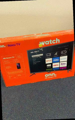Onn Smart Tv 32 inches!! All new with warranty! Open Box TV! ROKU control! M 1E for Sale in San Bernardino, CA