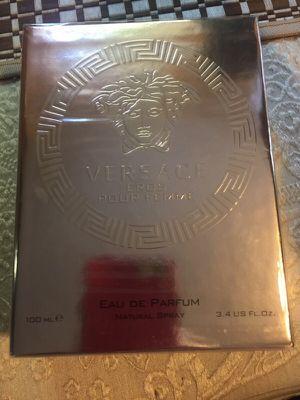 Versace Eros perfume brand new 3.4fl oz for Sale in Miami, FL