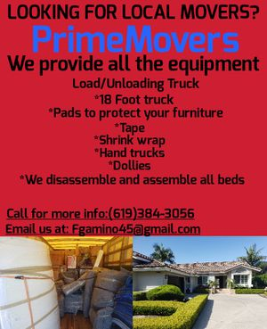 Moves for Sale in San Diego, CA