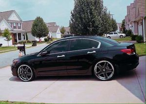 Black chrome wheels Honda Accord 2008 for Sale in Des Moines, IA