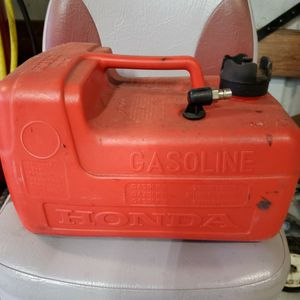 3 Gallon Honda Outboard Motor Gas Tank for Sale in Scappoose, OR