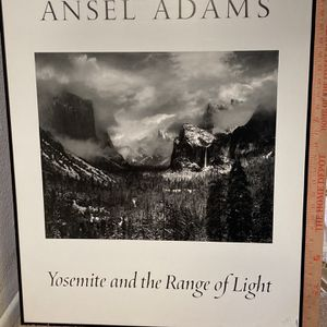 Ansel Adams Yosemite artwork picture framed for Sale in Huntington Beach, CA