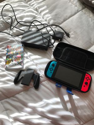 Like New Nintendo Switch Bundle!! for Sale in Columbus, OH