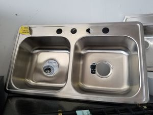 New kitchen sink on sale **price is firm for Sale in Humble, TX