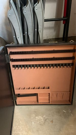 Jewelry organizer armoire and photo holder for Sale in Riverside, CA