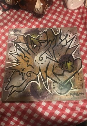Graffiti Abstract 12x12 tile @neks_uno for Sale in Brooklyn, NY