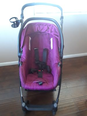 Bebey girl stroller and carseat $150 obo for Sale in Lancaster, CA