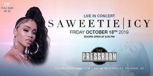 3 Saweetie Tickets Arizona October 18th for Sale in Phoenix, AZ